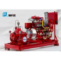 Buy cheap Ul Listed 750usGPM@160PSI Diesel Engine Driven Fire Pump Set with Jockey Pump from wholesalers