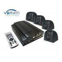 Quality Surveillance 4 Channel Mobile DVR , 2TB Video Recorder System For School Bus for sale