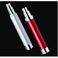 Quality empty slim and tall plastic cosmetic airless bottle 10ml 15ml 20ml 30ml 35ml for sale