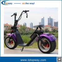 China High Quality Two Wheel 1500w Citycoco Scooter, 60V 12ah/20ah Battery Electric  harley on sale