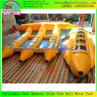 China Inflatable Towable Water Sports Equipment Banana Boat  Fly Fish Inflatable Boats on sale