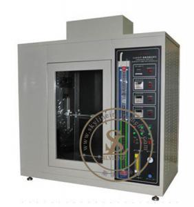 Quality IEC60695-11-3 / UL94 Horizontal Vertical Flammability Testing Equipment For Plastics for sale