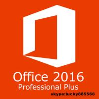 Quality Office2016 Professional Plus Original 2016 32/64 Bit product key license for PC for sale
