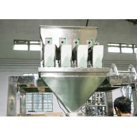 Quality SS Material Packing Machine Accessories Multiheads Weigher 4 Heads for sale