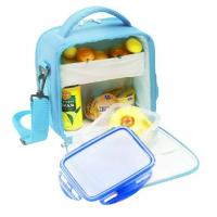 Quality Picnic Cooler Childrens Lunch Bags Sky Blue Color 600D Nylon for sale
