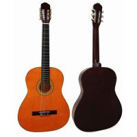Quality red / Black Junior Basswood Wood Classical Guitar Polished Painting CG3910A for sale