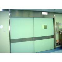 China Hospital Stainless Steel Electric Sliding Door For Operating Room on sale
