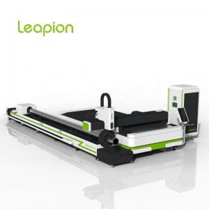 China LF-3015ST metal laser cutting machine for iron copper metal sheet tube fiber laser  cutter on sale