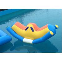 China Multicolorful Inflatable Water Toys Heat Sealing Non Fading Color CE Certificate on sale