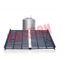 Buy cheap Horizontal Type Solar Vacuum Tube Collector , Solar Hot Water Collector 500L from wholesalers