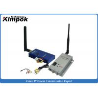 Quality 12 Channels Small Size CCTV Wireless Video Transmitter And Receiver 1000mW DC 12V for sale