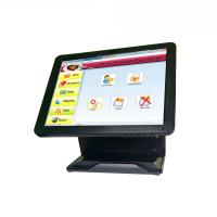 Quality Pure Flat All In One POS Terminal Tablet Cash Register System Fast Heat Dissipation for sale