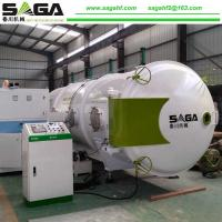 Quality Small High Frequency Vacuum Wood Drying Machine 13CBM From SAGA for sale