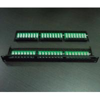 Quality 1U 48port Cat5e/Cat6 Patch Panel(SF-PP002) for sale