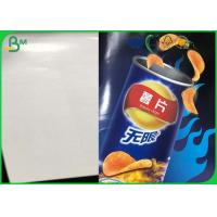Quality High Saturation Food Grade Paper Roll 100% Virgin Wood Pulp For Noodles / Cup Paper for sale