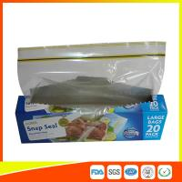 Quality Snap Seal Reusable Sandwich Bags For Coles Supermarket Large Size 35*27cm for sale