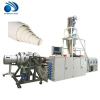 Buy cheap Plastic PVC PP PE pipe production line/making machine/extrusion line from wholesalers