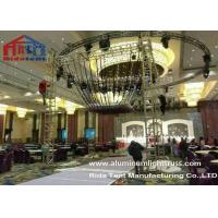 Buy cheap Glass Finished Aluminum Stage Truss Outdoor For Weddings Party 80km / h from wholesalers