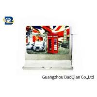 Quality PET Fridge Lenticular Magnet Souvenir 4 Color 3D UV Printing 0.45mm Thickness for sale