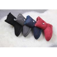 Quality ugg female shoes UGG 1003889 low tube crystal buckle fur one for sale