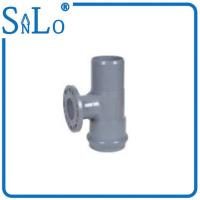 China Plastic Water Pipe UPVC Pressure Fittings One Faucet  , One Insert Plastic Pipe Reducer on sale