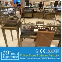 Quality point of sales display stand for jewelry store showcase from China manufacture for sale