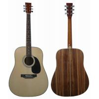 Quality Zebrawood Plywood Small Acoustic Guitar Western Guitar With Medium Level Rib AF4122 for sale