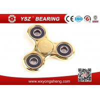 Quality Hand Spinner Classroom Fidget Toys Gold Plated Red Green Gold For Promotional Gifts for sale