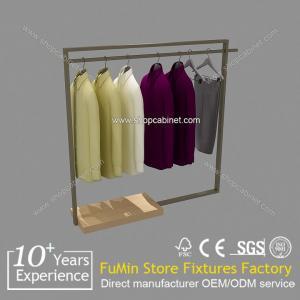 Quality garment display shelf garment hanger stand for sale