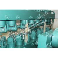 Quality Vertical 17 Rollers Pipe Straightening Machine With Hight Precision in Green Color for sale