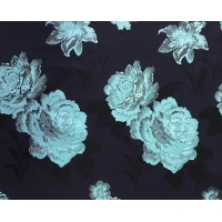 Quality Floral Fabric Jacquard TC Yarn-dyed H/R 21.0cm 460T/83%T/17%C/185gsm for sale