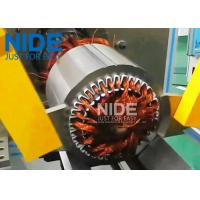 Buy Automatic Horizontal Coil Inserting Machine With Wedge Feeding Mode , Controlled by PLC at wholesale prices
