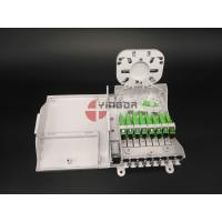 Quality FTTH CPE Fiber Optic Termination Box With 1/8 Splitter SC G657A2 Corning LSZH for sale