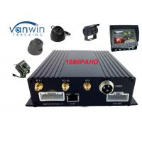 Quality GPS 3G Wi-Fi HD Mobile DVR 4 Camera SD Card for Fleet Management for sale