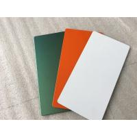Quality Easy Installation Aluminum Sign Panels 4200mm Length With Polyester Paint for sale