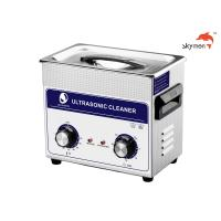 Quality 120W Ultrasonic Cleaning Equipments , Ultrasonic Parts Washer 3.2L Mechanical Knob for sale