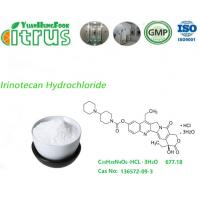 Quality Irinotecan HCL 3H2O / Irinotecan Hydrochloride Trihydrate Powder Used As Drugs for sale