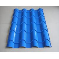 Quality Great Building Material Aluminum Roof Glazed Tile Roll Forming Machine for sale