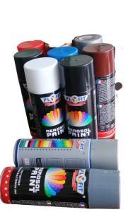 Quality Liquid Coating Gold 400ML Acrylic Spray Paint Hard Film Appearance for sale