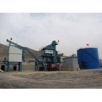Quality 80 Ton Output Asphalt Mixing Plant In Road Construction Machinery 1000KG Mixer Capacity for sale