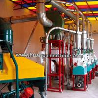 Quality wheat flour mill machine for making / grinding wheat maize corn flour for sale