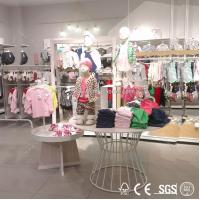 Quality wholesale private label clothing manufacturers/retail store furniture/clothes shelf for sale