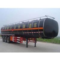 Quality CLWJAC Yangtian 11.8 meters 28 tons of asphalt insulation 3 axis transport trail for sale