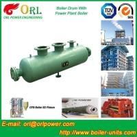 Quality Coal Fired CFB Boiler Drum High Strength , Water Tube Boiler Drum 100 T for sale