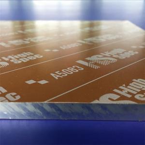 Quality Cast 5083 Aluminum Plate High Precision Flatness Aluminum Sheet for sale