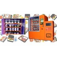 Quality Airport Custom Microwave Sandwich Vending Machine With Sales Report , Automated Kiosk for sale