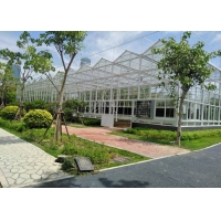 Quality Muti Span Plant Grow 10mm Polycarbonate Cover PC Greenhouse for sale