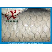 Quality Hexagonal 16 Gauge Galvanized Wire Mesh / Chicken Mesh Wire Fencing for sale