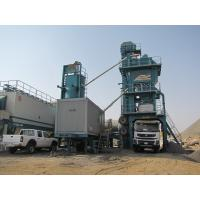 Quality 800mm Conveying Belt Width Mobile Asphalt Mixing Plant With High Pressure Atomizing Burner for sale