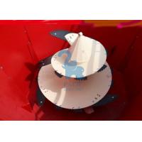 Quality White Agricultural Equipment Parts Feed Mixer Auger with  Serrated Knives for sale